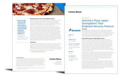Domino's Pizza strengthens its endpoint security posture