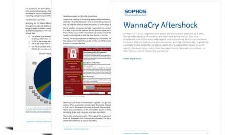 WannaCry Aftershock