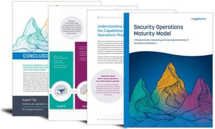 The LogRhythm Security Operations Maturity Model