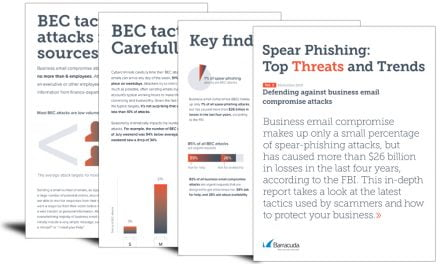 Spear phishing: top threats and trends (Vol 3)