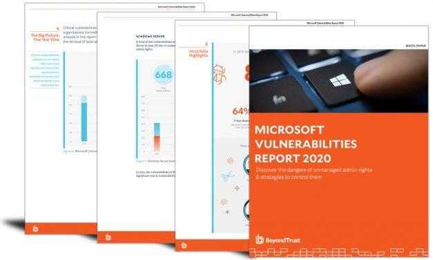 Microsoft Vulnerabilities Report 2020
