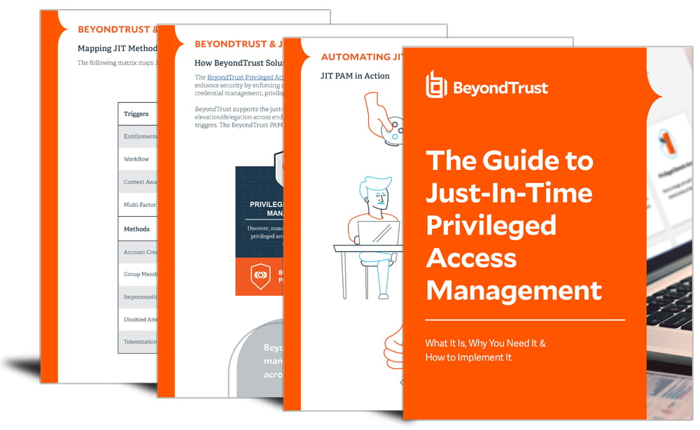 The Guide to Just-In-Time Privileged Access Management