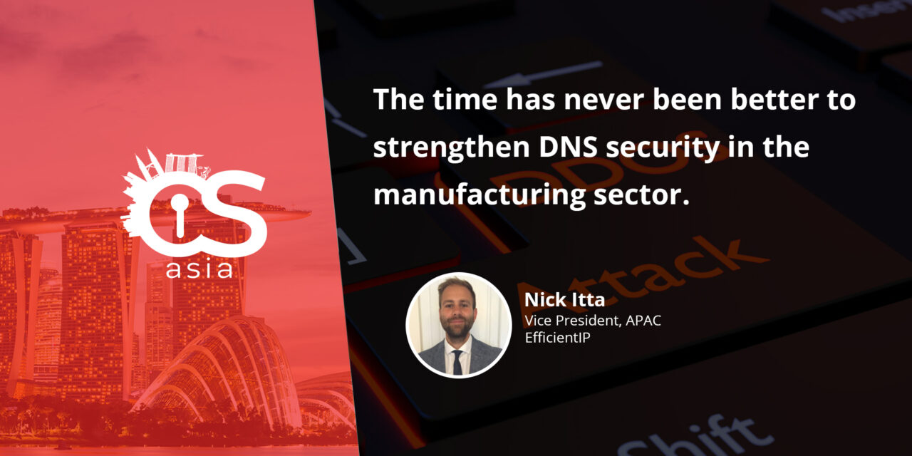 global supply chains threatened by DNS attacks