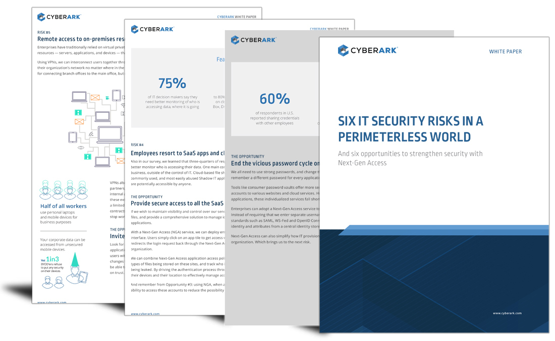 6 IT security risks in a perimeterless world