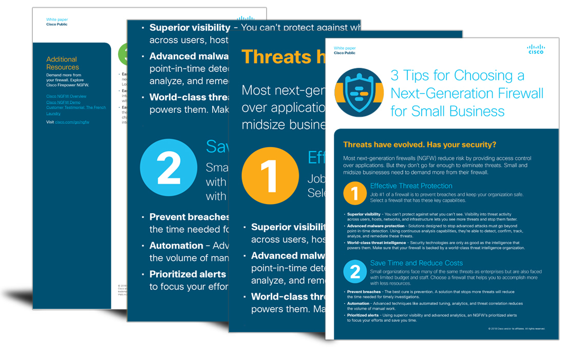 3 tips for choosing a next-generation firewall for small businesses
