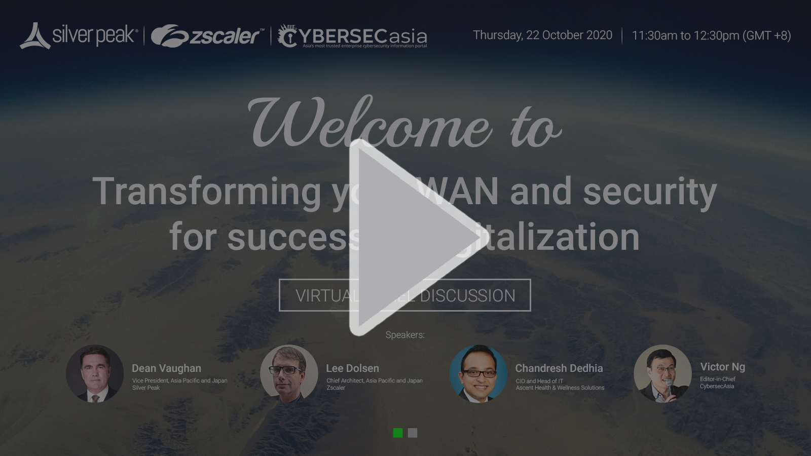Panel discussion: transforming your WAN and security for successful transformation