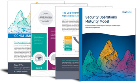 Security operations maturity model