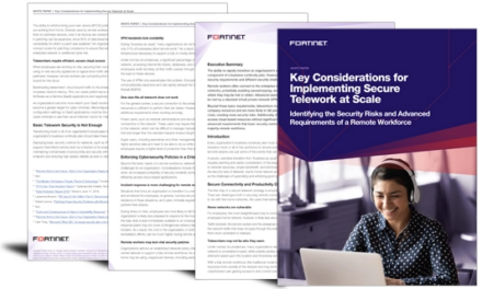 Key considerations for implementing secure telework at scale