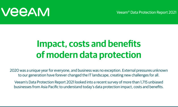 Impact, costs and benefits of modern data protection in APAC