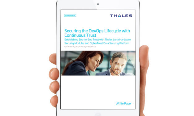 Secure the DevOps lifecycle with continuous trust